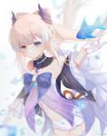 Kokomi - Genshin impact by Rozenith