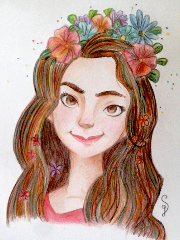 Liv, the flower girl by Hayashii-san