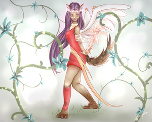 Priestess of the Sun by Arainekoo