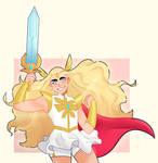 buff queen She ra (+Speedpaint)