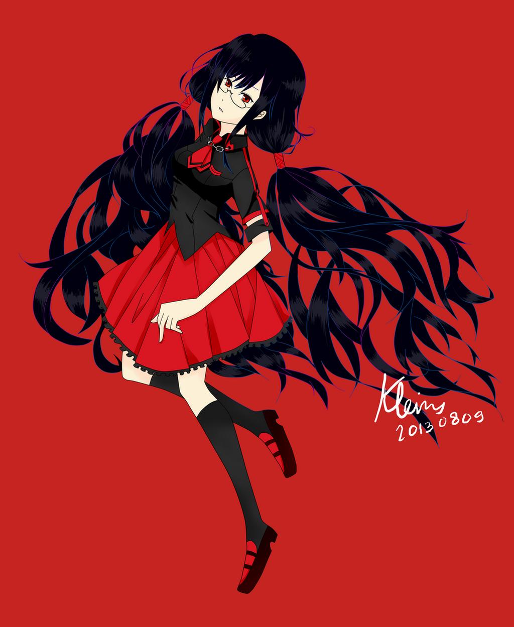 Kisaragi Saya [Blood-C] By Kleinz On DeviantArt