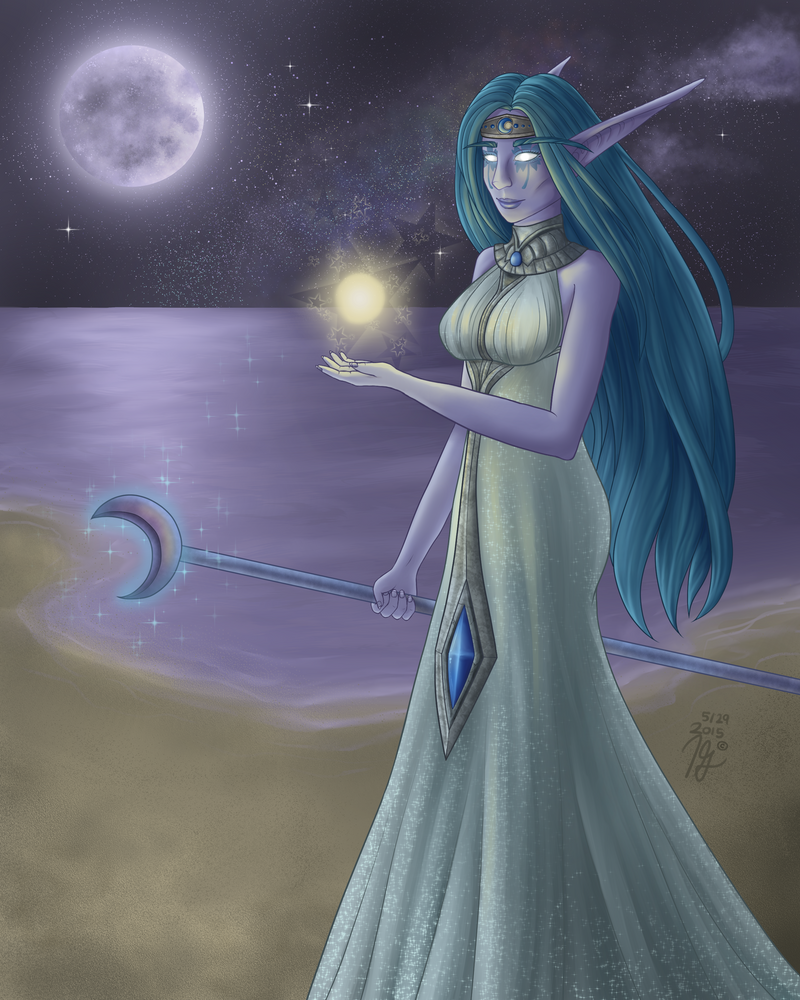 Moon Priestess by Darisper