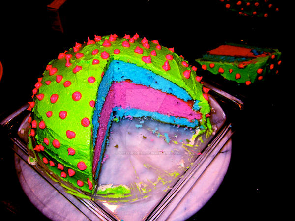 Spike Cake by stephie00180