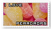 I love Peardrops Stamp by Yuki-Su