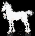 A6267 Silverbrook's North Wind (foal design)