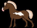 F053 Teacup Foal Design :: Angel Wings