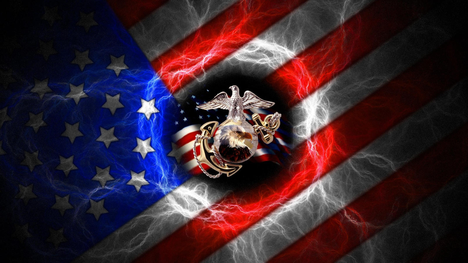 usmc veterans day by praetoriuslexicus digital art fractal art 2007 ...