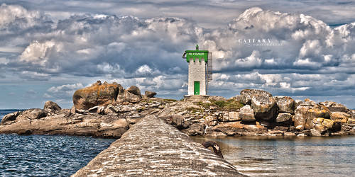 The Lighthouse by Catlaxy