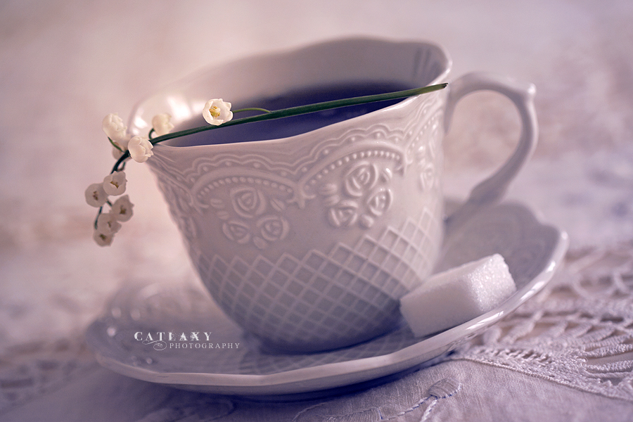 Cup Of Tea by Catlaxy