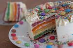 Rainbow Cake by Catlaxy