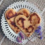 Valentine Pancakes by Catlaxy