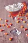 Candy Corn Cocktail by Catlaxy
