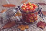 Candy Corn Jar by Catlaxy