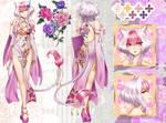 CM - Custom Mienshao Gijinka by Wanini