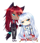 CM - Red and White by Wanini