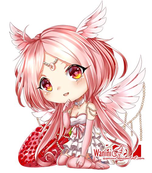 CM - Strawberry angel by Wanini