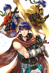 3 Hero Ike by Wanini