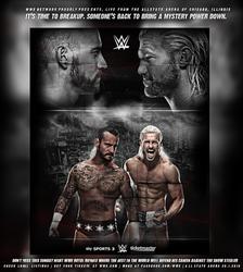 CM Punk vs Dolph Ziggler, Royal Rumble 2018 by GherdezGFX