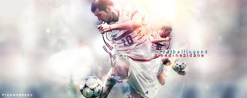 Zidane / French Legend by GherdezGFX