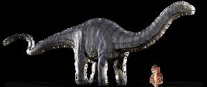 Piedino e l'apatosauro di Jurassic World