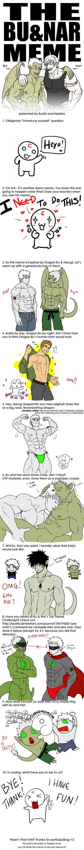 Bu and Nar Meme by CrimsonBlood-Z