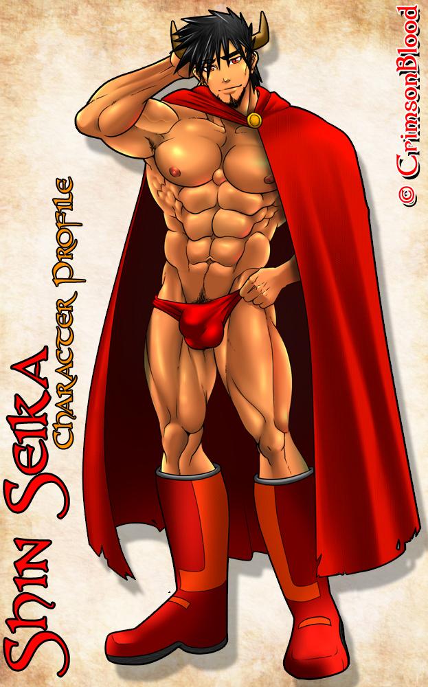 Shin Seika Dressed Version by CrimsonBlood-Z