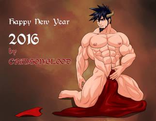 Happy New Year 2016 by CrimsonBlood-Z