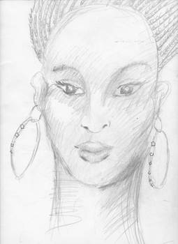 Princess Halima from novel The Blood of Titans