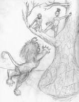 Up a Tree from The Blood of Titans by werewolfwriter