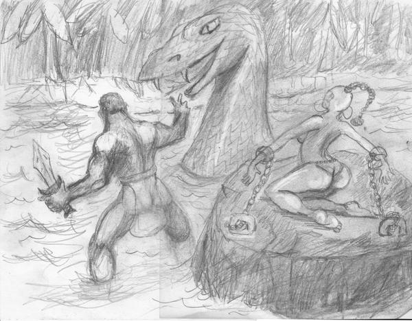 Jabari vs. The Snake King by werewolfwriter