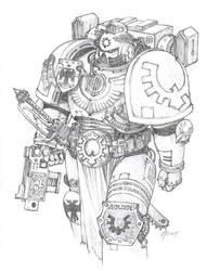 Sons Of Golden Space Marine by RistyMcFist
