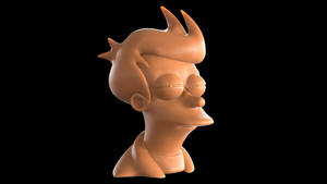 Futurama Fry ('Not sure if' meme) bust