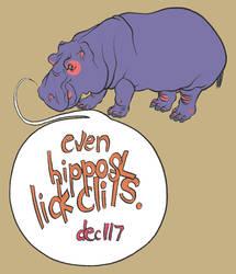 Even Hippos by giantflyingTURD