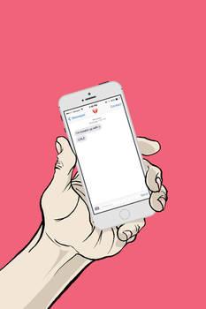 Cowardice via text