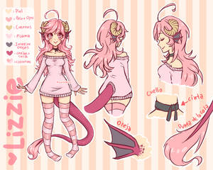 Lizzie - Reference Sheet