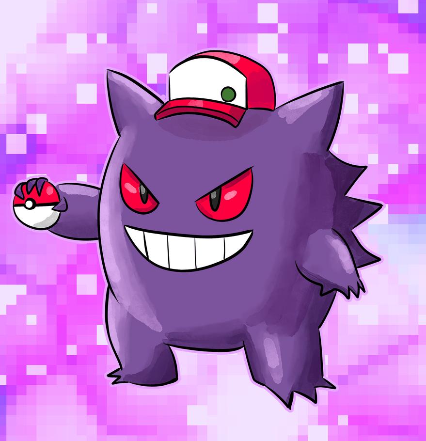 Pokemon Trainer Purple