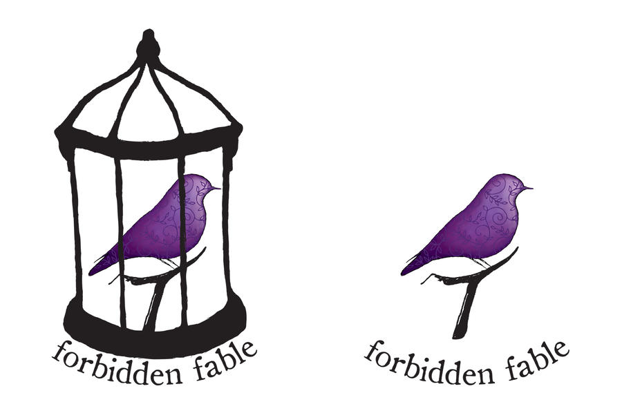 forbidden fable final logo by stawbe on DeviantArt