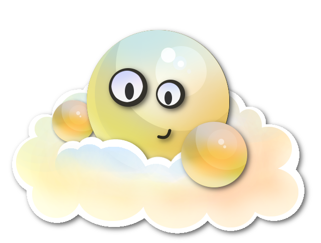 Shiny Cloud Emoticon by MegaLoler