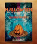 Halloween flyer template 7