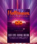 Halloween flyer template 9