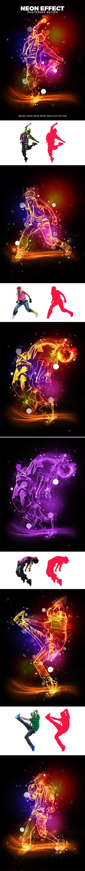 Neon Effect Action by newdesigns