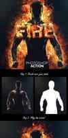 Fire Photoshop Action