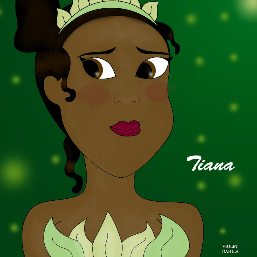 Tiana-Disney by Violetdahila