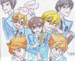 Ouran on Watercolor Pencils by kimlinheung