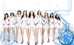 SNSD white vector