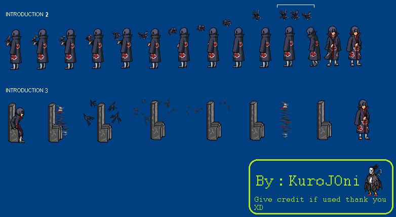Itachi new intros by KuroJOni