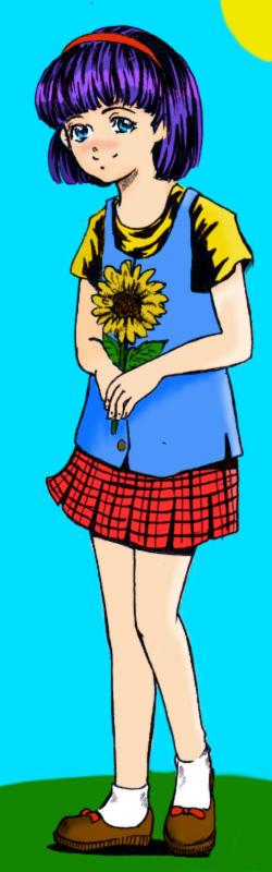 Random Girl -colored-