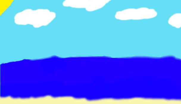 Random Beach in Muro
