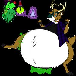 Jeiku the Rotund Reindeer