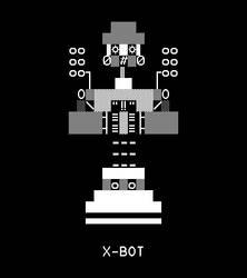 Heavy Weapon Deluxe Boss - X-Bot by ED-127